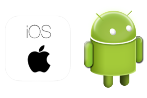 mobile OS, ios and Android